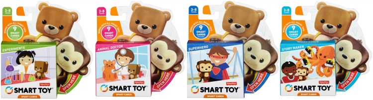 Fisher Price Smart Toy Smart Cards Expansion