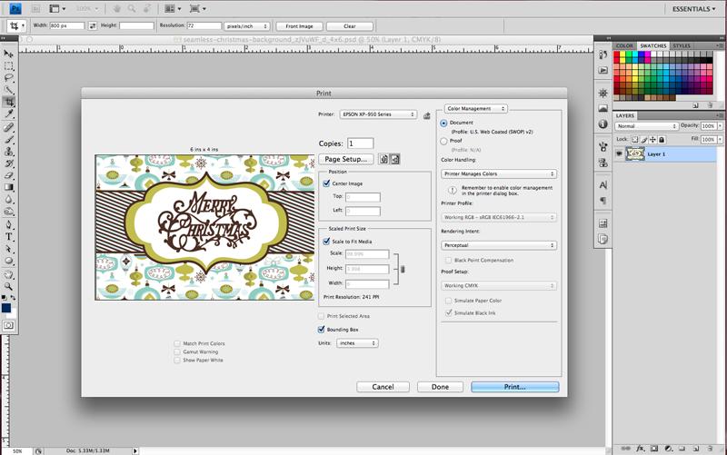 GraphicStock 4x6 Easy Print