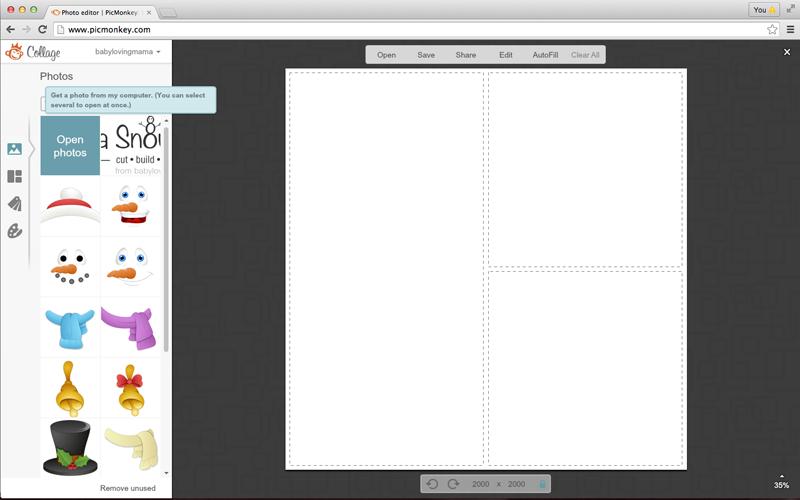 GraphicStock Snowman Pic Monkey 1