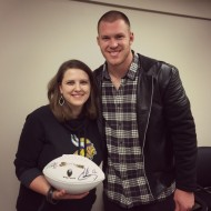 Meeting Kyle Rudolph of the Minnesota Vikings + Game Day Giveaway