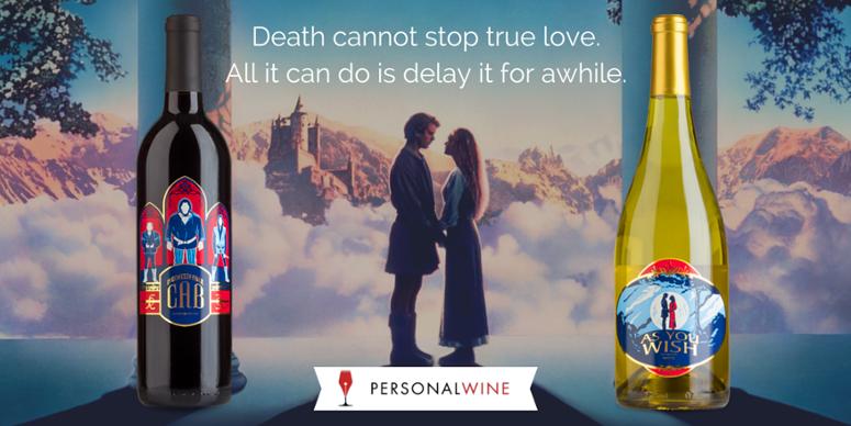 personal wine princess bride