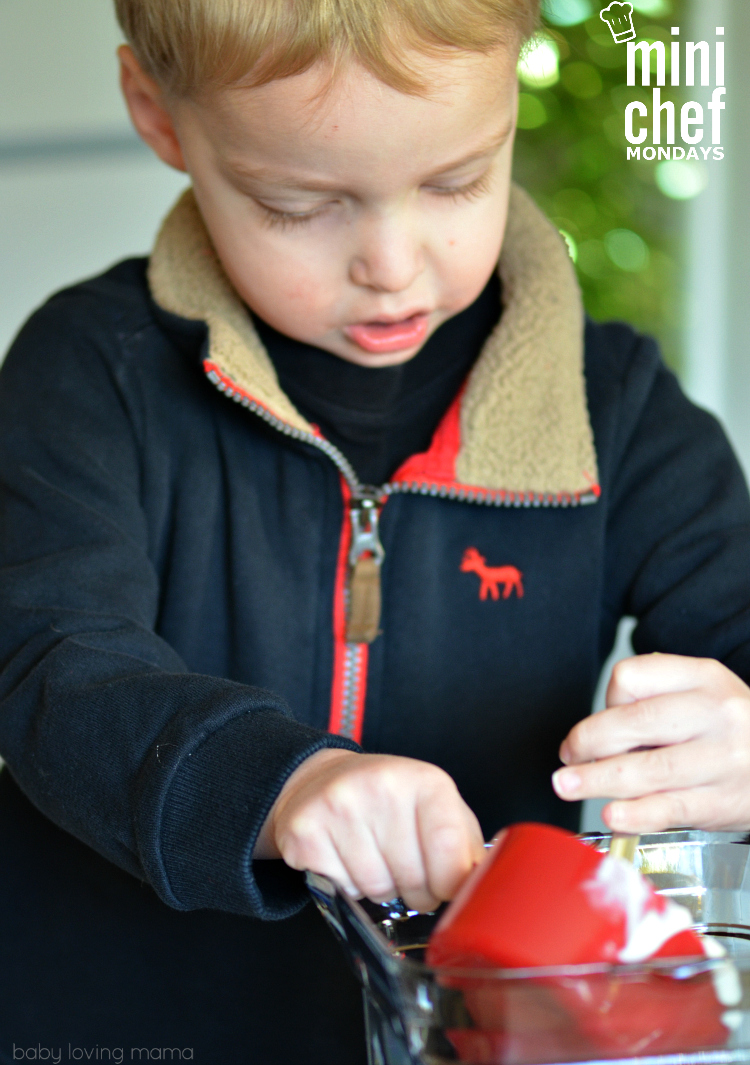 Kid Making Refreshing Fruit Smoothie