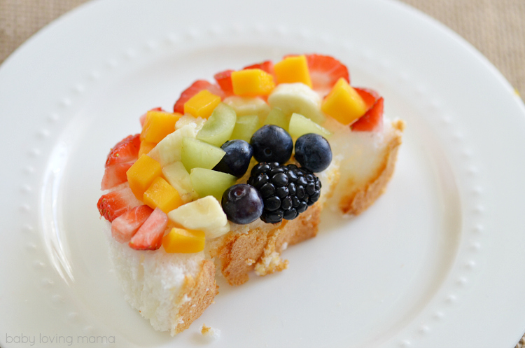 Rainbow Fruit Art Kids Snack
