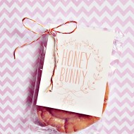 Easter Treat Free Printable: Hey Honey Bunny