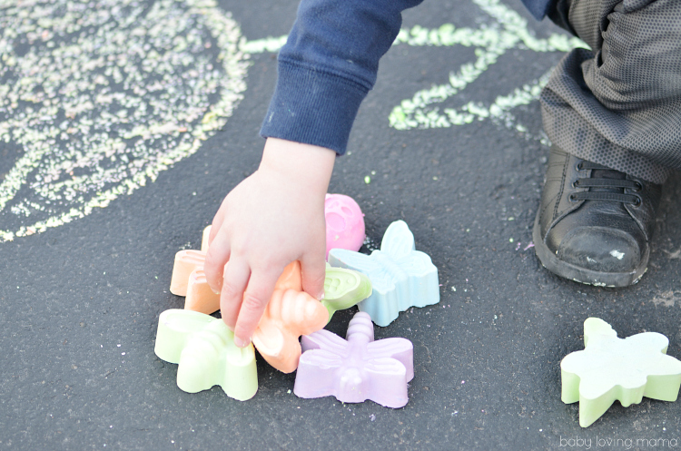 rying Homemade Sidewalk Chalk