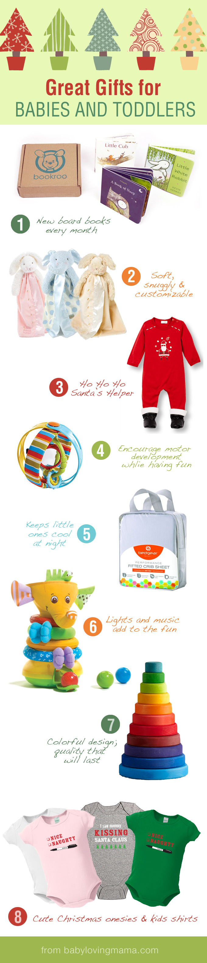 Great Gifts for Babies and Toddlers Holiday Gift Guide Round Up